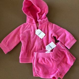 Gymboree Baby Girl Terry Cloth Set Outfit